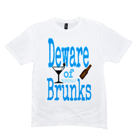 White Deware of Brunks Tshirts