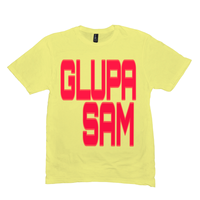Lemon Yellow Glupa Sam (Bosnian) Tshirts