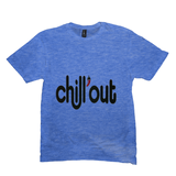 Heather Royal Chillout Tshirts