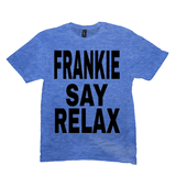 Heather Royal Frankie Say Relax Tshirts