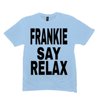 Ice Blue Frankie Say Relax Tshirts