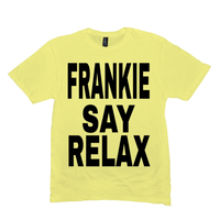Lemon Yellow Frankie Say Relax Tshirts