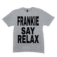 Light Heather Grey Frankie Say Relax Tshirts