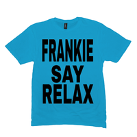 Heather Bright Turquoise Frankie Say Relax Tshirts