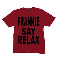 Red Frankie Say Relax Tshirts