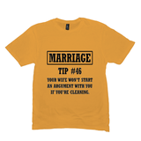 Gold Marriage Tip Tshirts