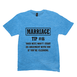 Heather Bright Turquoise Marriage Tip Tshirts