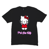 Black F*ck You Kitty Tshirts
