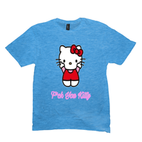 Light Turquoise F*ck You Kitty Tshirts