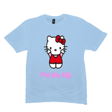 Ice Blue F*ck You Kitty Tshirts