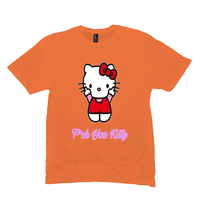 Orange F*ck You Kitty Tshirts