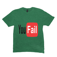 Heather Green You Fail Tshirts