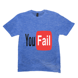 Heather Royal You Fail Tshirts