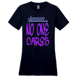 New Navy Shhhh...No One Cares T-Shirts