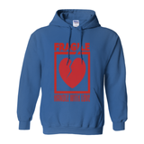 Royal Fragile Handle with Love Hoodies (No-Zip/Pullover)