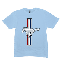 Ice Blue Mustang Tshirts
