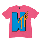 Neon Pink WTF T-shirts