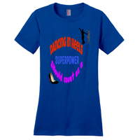 Deep Royal Dancing in Heels Tshirts