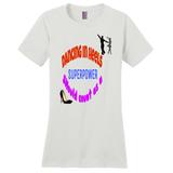 White Dancing in Heels Tshirts