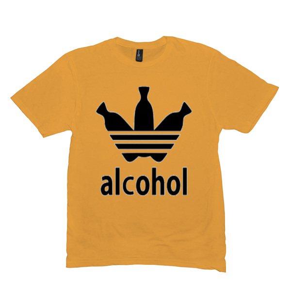 Gold Alcohol T-shirts