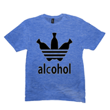 Heather Royal Alcohol T-shirts