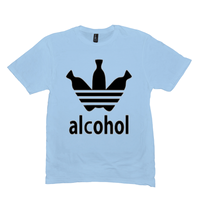 Ice Blue Alcohol T-shirts