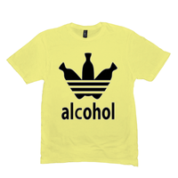 Lemon Yellow Alcohol T-shirts