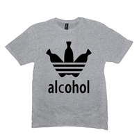 Light Heather Grey Alcohol T-shirts