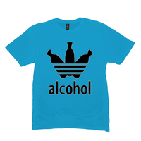 Light Turquoise Alcohol T-shirts