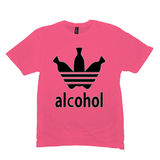 Neon Pink Alcohol T-shirts