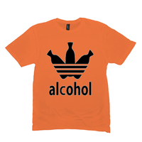 Orange Alcohol T-shirts