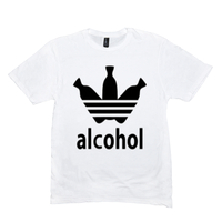 White Alcohol T-shirts