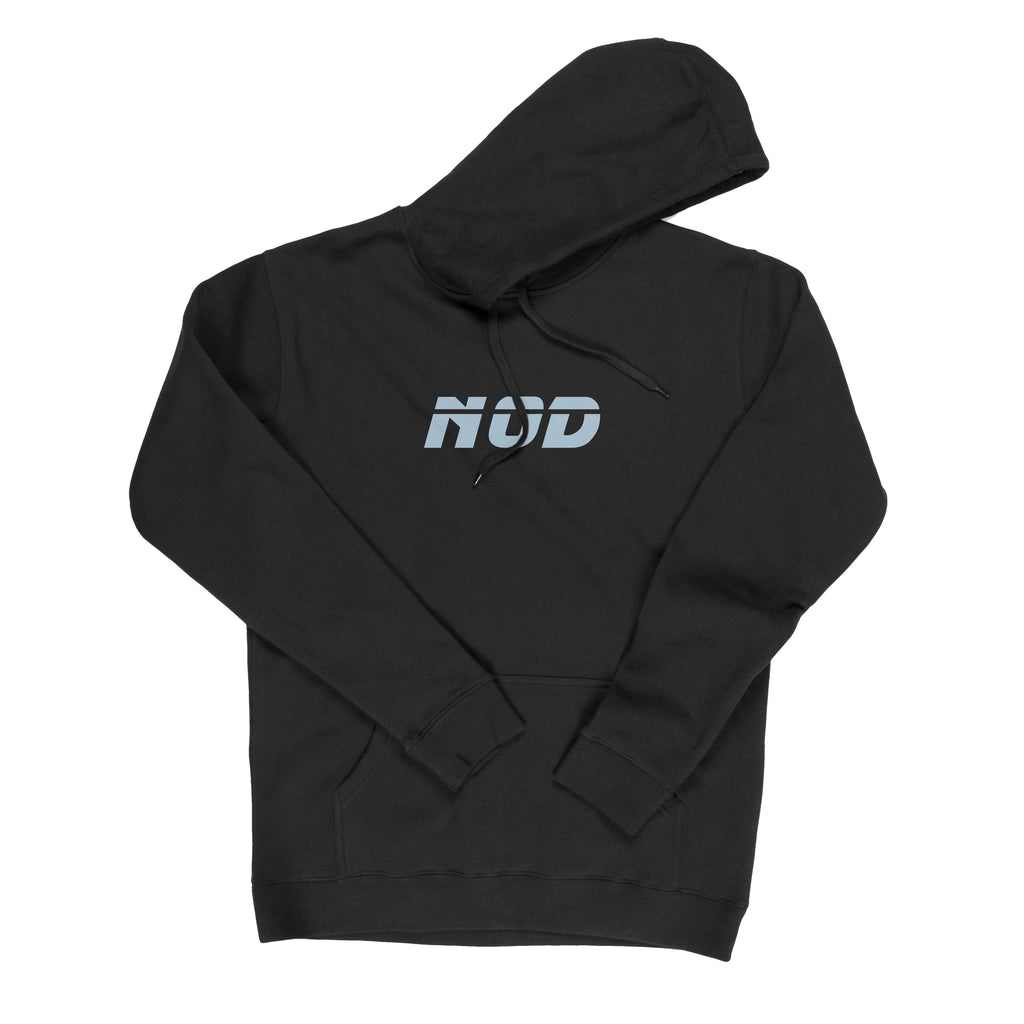 NC-005 3M Hoody (Black) - nod clothing - streetwear clothing brand from melbourne