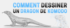 Comment dessiner un dragon de Komodo ?