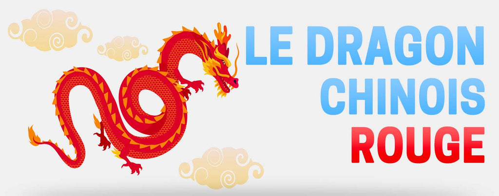 Le Dragon Chinois Rouge