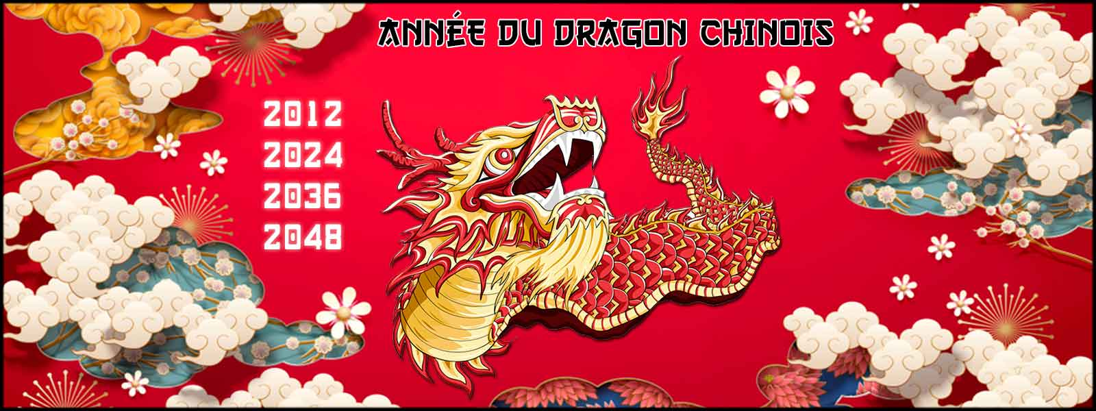 Years of the Chinese Dragon