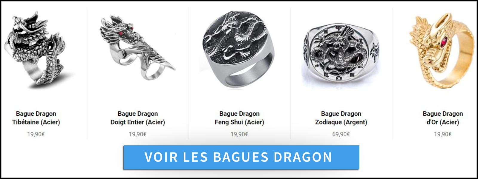 Bague dragon