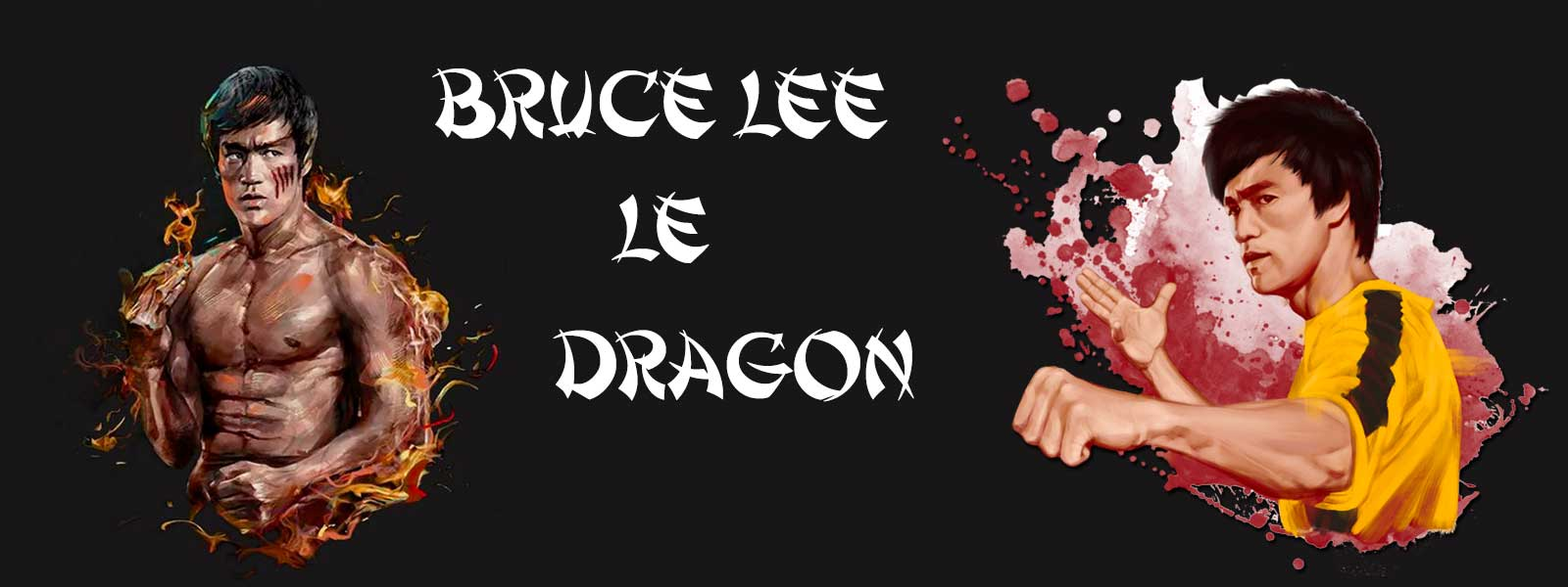 Bruce Lee le dragon