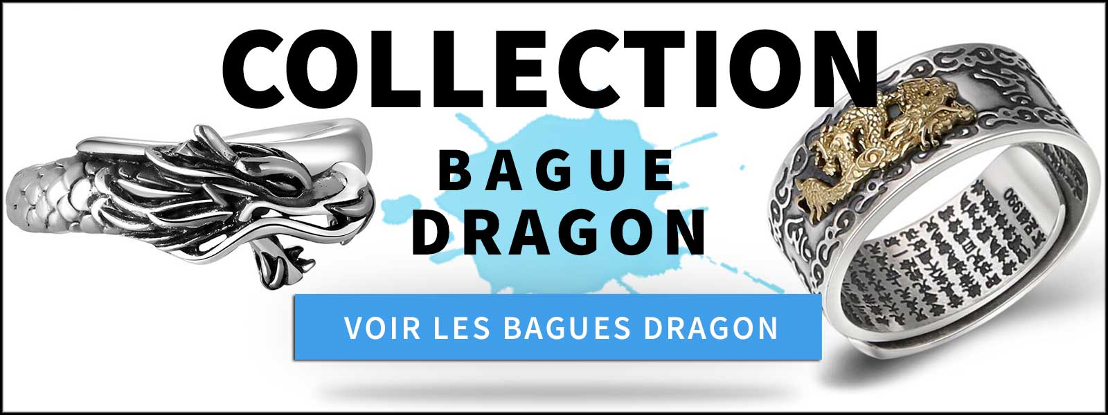 collection bagues dragons