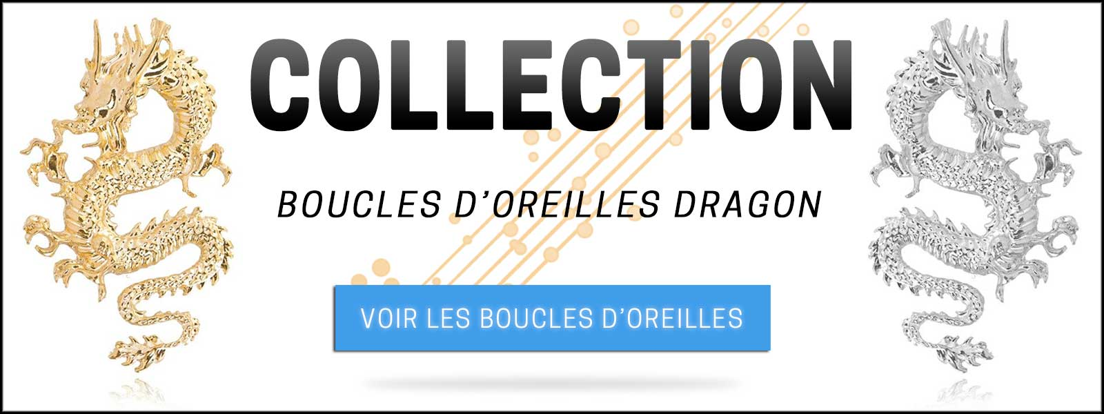 Collection boucles d'oreilles dragon