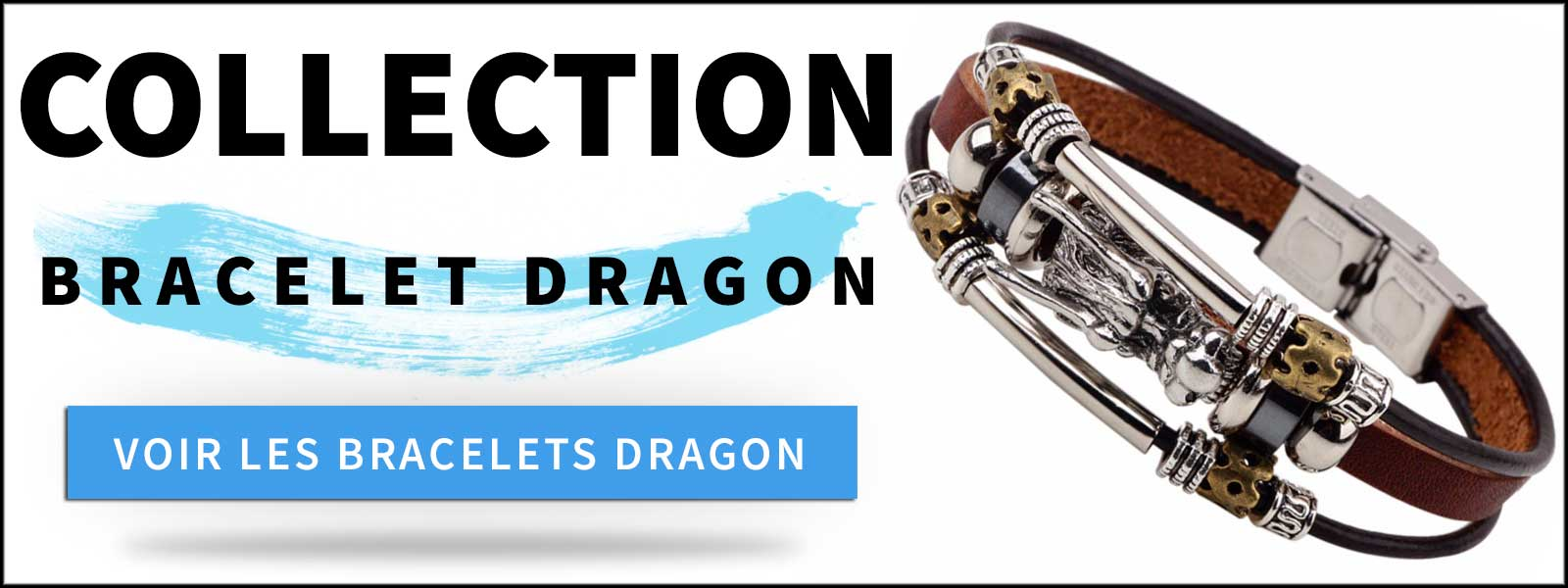 Collection bracelets dragons