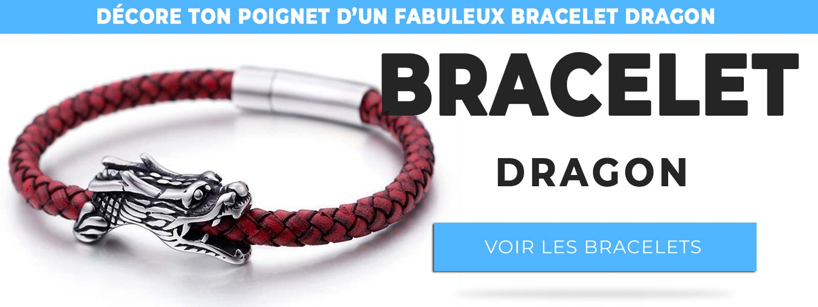 Collection de bracelets dragon