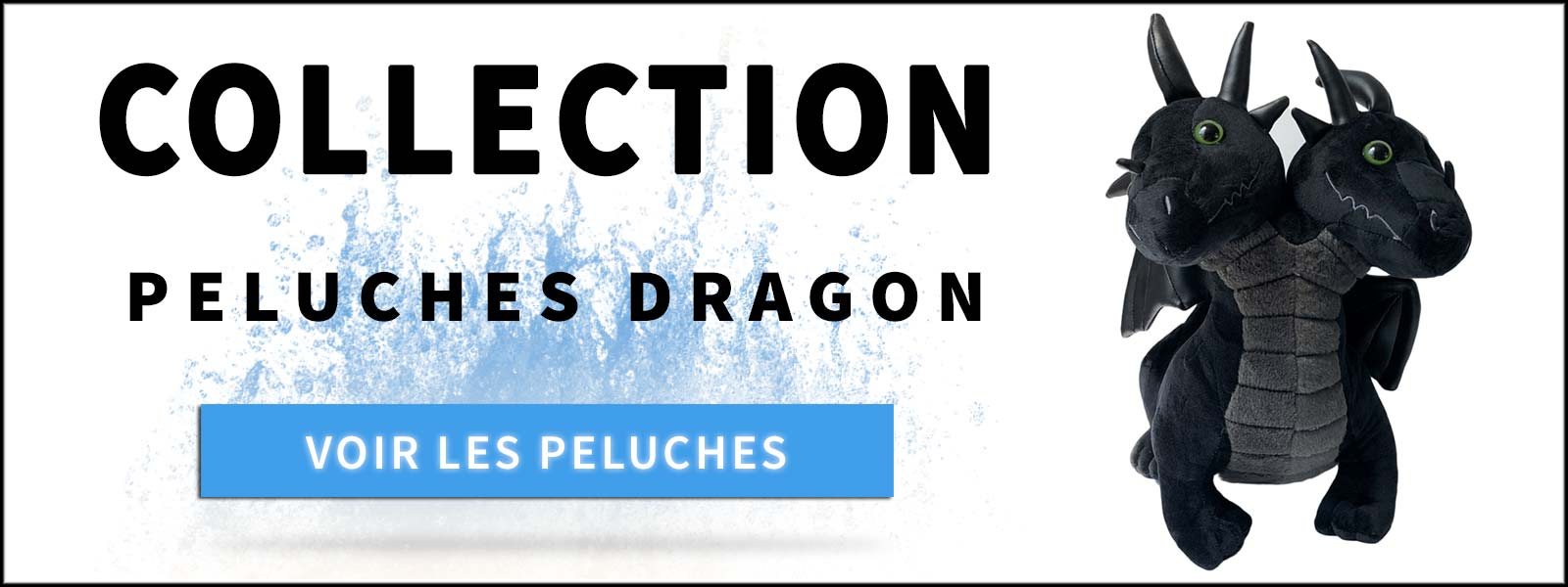 Collection peluches dragon