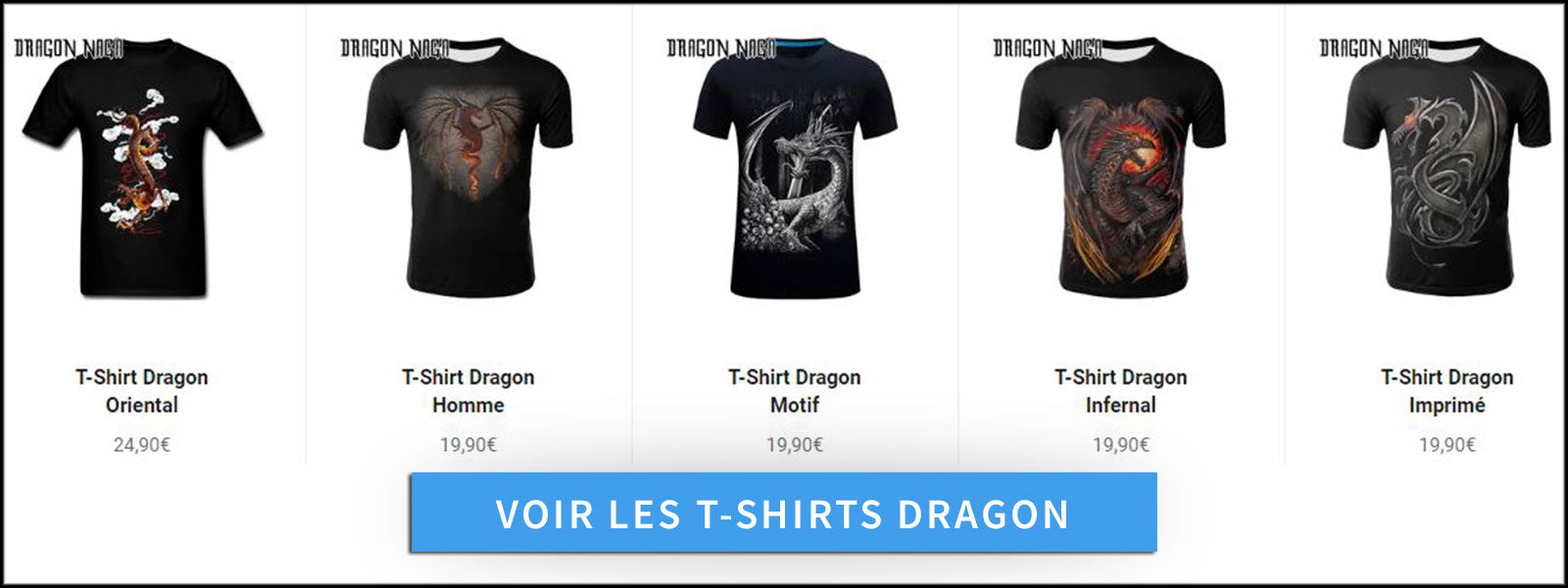 Collection T-Shirts Dragon