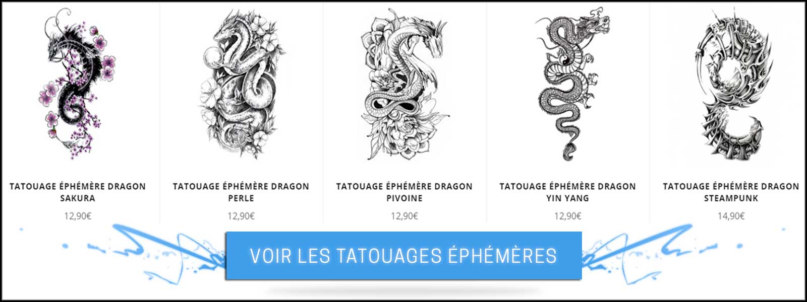 Collection tatouage éphémère