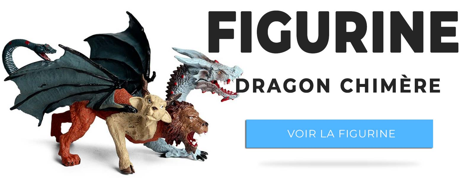 Figurine dragon chimère