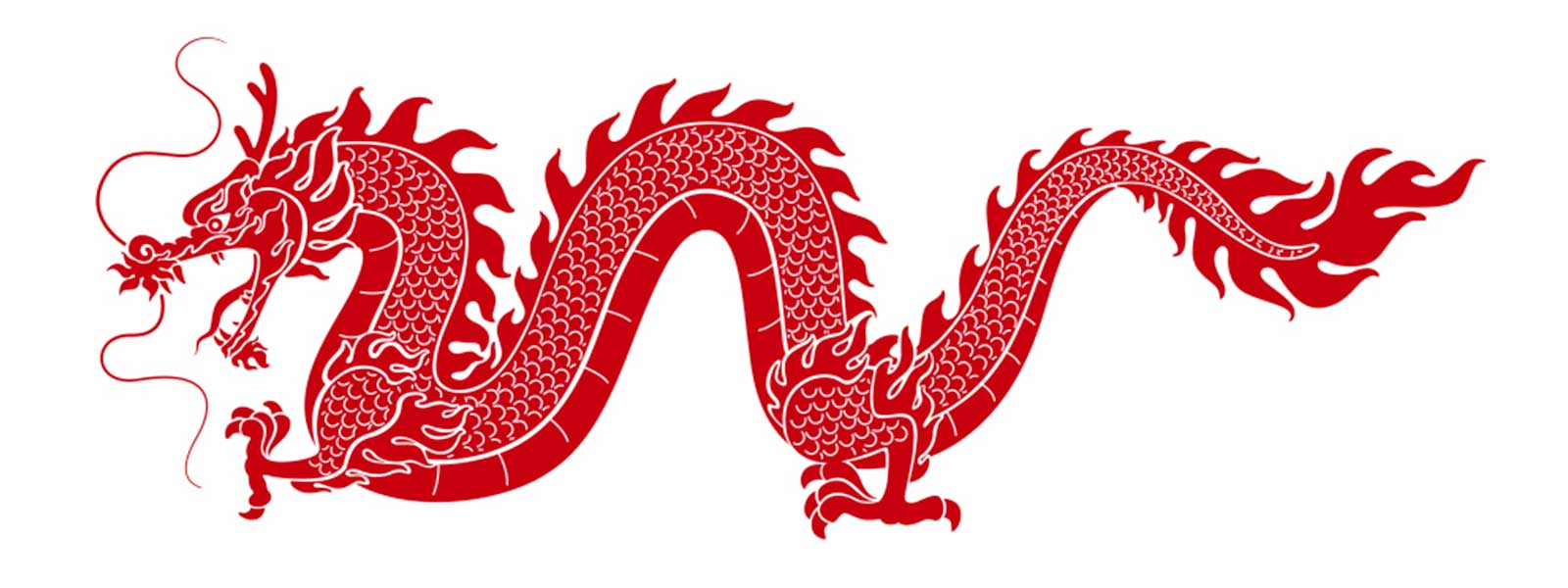 Image Dragon Chinois Rouge