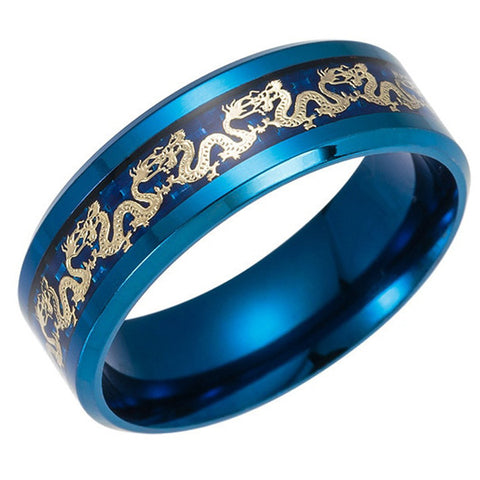 Bague Celtique Dragon