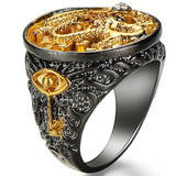 Bague Dragon<br> Or