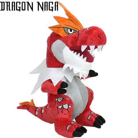 Peluche Dragon Rouge